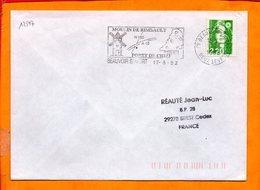 DEUX SEVRES, Beauvoir Sur Niort, Flamme SCOTEM N° 12597, Moulin De Rimbault - Marcophilie (Lettres)