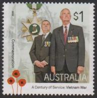AUSTRALIA - USED 2016 $1.00 A Century Of Service: Vietnam War - Commemoration - Vietnam Star - War Medal - 2010-... Elizabeth II
