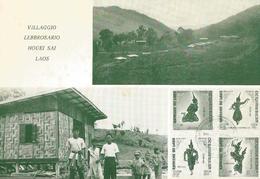 MISSIONARI OBLATI DI MARIA IMMACOLATA VILLAGGIO LEBBROSARIO HOUEI SAI LAOS   (777) - Laos