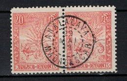MADAGASCAR       N°  YVERT    69 X 2     OBLITERE       ( O   3/18 ) - Madagascar (1889-1960)