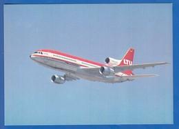 Flugzeug; Lockheed Tristar L1011-500; LTU - 1946-....: Moderne