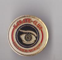 PIN'S   THEME KARATE  CLUB DE MEXIMIEUX - Badges