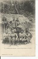 GABON     N'DORO  Chef De Village CHAKE Et Sa Famille - Gabon