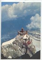 Chamonix Vue D'ensemble De L'aiguille Du Midi - Punta Helbronner (n°1253 Cp Vierge) - Chamonix-Mont-Blanc