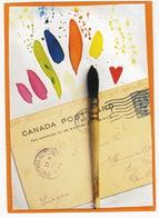 Vintage CANADA Post Card & Stamp - Kalender 'MÁRA! 's Zauberbilder' - (D.) - Postzegels (afbeeldingen)