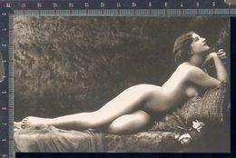 345/278 CPA CARTOLINA POSTALE WOMAN NUS FEMME D'EPOQUE EROTIC DONNA NUDA EROTICA SEX PRIMI 900 RIPRODUZIONE DA ORIGINALE - Beauté Féminine D'autrefois < 1920
