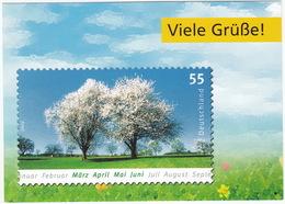 Viele Grüße ! - 0.55E. Briefmarke Deutschland 2006 - Philatelie-Truck-Tour - Deutschepost.de/philatelie - Postzegels (afbeeldingen)