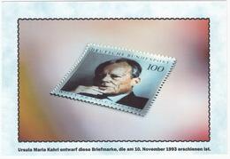 100 Pf. Briefmarke - Ursula M. Kahrl Entwarf Diese Briefmarke, Die Am 16.November 1993 Erschienen Ist - Sammler-Service - Postzegels (afbeeldingen)