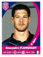 Panini Rugby 2017-2018 N° 172 ALEXANDRE FLANQUART Du STADE FRANCAIS PARIS - Panini