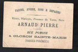 Oloron Sainte Marie (64 Pyrénées Atlantiques) Carte ARNAUD PIERRE (produits Agricoles) (PPP12778) - Publicités