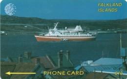 *FALKLAND ISLANDS - 2CNFB* - Scheda Usata - Falkland Islands
