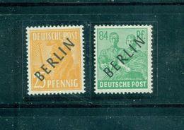 Berlin Auf Arbeitserie, Nr. 10 + 16 Postfrisch ** Geprüft BPP - Berlin (West)