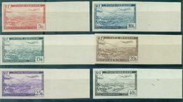 ALGERIE PA N° 1 / 6 N Xx NON DENTELE B De F RARE . TB. - Algeria (1924-1962)