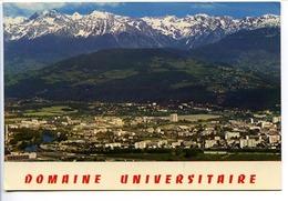 CPSM 10.5 X 15   Isère  GRENOBLE  Le Domaine Universitaire  La Chaîne De Belledonne  Saint Martin D'Hères - Grenoble