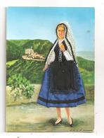 La Commingeoise-carte Brodée-(C.5008) - Ricamate
