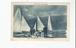 AIGUEBELETTE (SAVOIE) 650 (417 M) VOILIERS SUR LE LAC - Autres Communes