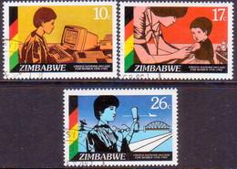 ZIMBABWE 1985 SG #685-87 Compl.set Used UN Decade For Women - Zimbabwe (1980-...)