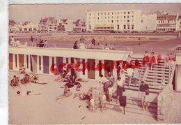 62 - LE TOUQUET PARIS PLAGE- DESCENTE DE PLAGE ET HOTEL DE LA MER - 1961 - Le Touquet