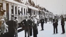 AV449.3 Bátaszék Vasútállomás Railway Station Gare 1945  WWII    Hungary Trasportation Museum Archiv Photo Ca 1970 - Trains
