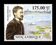 Mozambique Theodore Robinson Usa Paintings Painter 1v Stamp MNH Michel:5078 - Non Classificati
