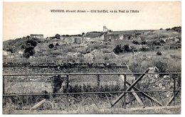 AISNE - Dépt N° 02 = VENDEUIL Dévasté = CPA NEUVE  SUPERBE = CHARLES LOUIS = Côté Sud-Est / Pont De L'Hotte - Other Municipalities