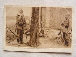 Ww1 Weltkrieg Soldat Allemand Carte Photo Wohlfahrts Karte Poste Telephone Avec Commando  130 - Guerre 1914-18