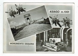20919 CPM   Monumento Ossario  ; ASIAGO  ,     Carte Photo Multivues    1966  ! - Vicenza