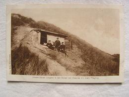 Ww1 Weltkrieg Soldat Allemand Carte Photo Wohlfahrts Karte Jeunes Soldats Dans Les Dunes Ostende Avec Leur Ane 140 - Guerre 1914-18