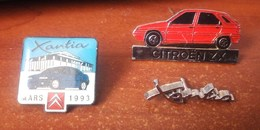 3 Pin's Citroën ZX Et Xantia - Citroën