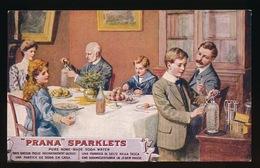 RECLAME -  PRANA SPARKLETS  - SODA WATER - Publicidad