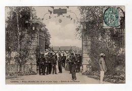 Cosne - Fêtes Officielles Des 15 Et 16 Juin 1907 - Entrée De La Caserne - 58 - - Cosne Cours Sur Loire