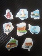 8 Fèves Collection Du Puzzle CARTE DE LA VENDEE - Regions