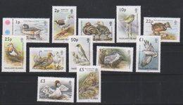 Falkland Islands 2003 Definitives / Birds 12v ** Mnh (38917) - Falklandeilanden