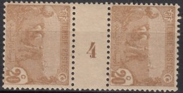"N° 34 Millésime "" 4 "" - X X - ( C 1296 ) - Tunisie (1888-1955)"