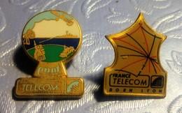 2 Pin's FRANCE TELECOM - France Telecom