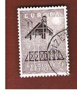 BELGIO (BELGIUM)  - 1957 EUROPA  - USED - Europa-CEPT