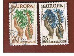 FRANCIA (FRANCE)  - 1957 EUROPA  - USED - Europa-CEPT