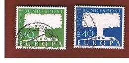 GERMANIA (GERMANY)  - 1957 EUROPA  - USED - Europa-CEPT