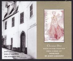 GIBRALTAR 1997 ** Y&T 816 Dior - Galliano - Haute Couture - Gibraltar