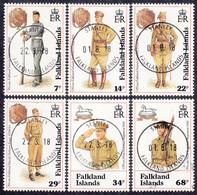 FALKLAND ISLANDS  Michel  569/74  Very Fine Used - Falkland
