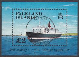 FALKLAND ISLANDS  Michel  BLOCK 10  Very Fine Used - Falkland