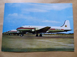 BELGIUM AIR FORCE    DC 4  OT CWV - 1946-....: Era Moderna