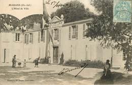 Dép 17 - Marans - L'Hôtel De Ville - état - Altri Comuni