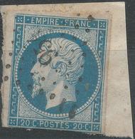 Lot N°42927   N°14A, Oblit PC 954 Cordes, Tarn (77), Ind 5 - 1853-1860 Napoléon III.