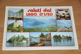 2473-  Saluti Dal Lago D'Iseo - Bergamo