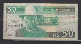 NAMIBIA 50 NAMIBIA DOLLARS - Namibie