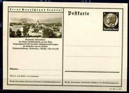 """German Empires1934 Kopfbild Hindenburg GS Mi.Nr.P236/41-171-1-B7 """"Lernt Deutschland Kennen!-Saybusch,Oberschlesien""""1GS - Deutschland"""