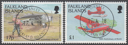 FALKLAND ISLANDS  Michel  732/33  Very Fine Used - Falkland