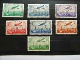 FRANCE PA N° 8/14 OBLIT. TTB COTE +500 € - Airmail