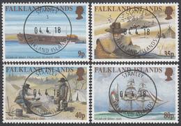 FALKLAND ISLANDS  Michel  763/66  Very Fine Used - Falkland